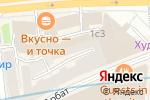 Схема проезда до компании Speakeasy в Москве
