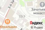 Схема проезда до компании Императив в Москве