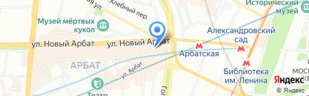 Фонд поддержки малого бизнеса на карте Москвы
