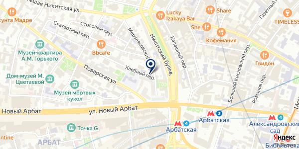 МАГАЗИН МЯСНЫХ ИЗДЕЛИЙ ПАЛЬМОЙ на карте Москве