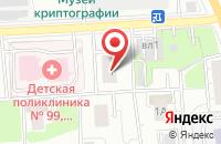 Схема проезда до компании Магазин дверей в Осиново