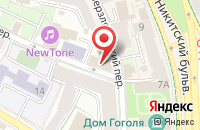 Схема проезда до компании Абрис в Москве