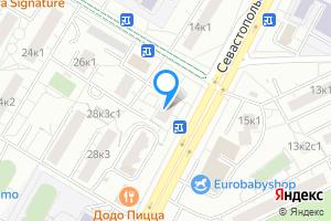 Сдается двухкомнатная квартира в Москве Севастопольский пр-т, 16