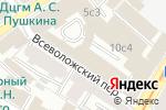 Схема проезда до компании Церих Кэпитал Менеджмент в Москве