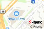 Схема проезда до компании Ареал-Шина в Москве
