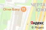 Схема проезда до компании Корейский базар в Москве