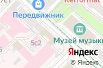 Схема проезда до компании Московский юрист в Москве
