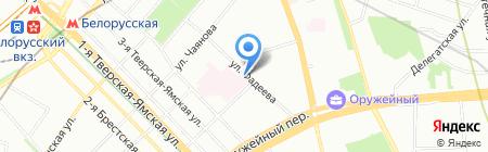 Аль Мега на карте Москвы