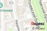 Схема проезда до компании Правовой диалог в Москве