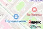 Схема проезда до компании Передвижник в Москве