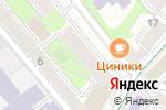 Схема проезда до компании 345Club в Москве