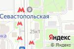 Схема проезда до компании Sushi love в Москве