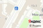 Схема проезда до компании Хотей в Москве