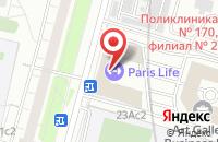 Схема проезда до компании Фреш Маркет в Москве