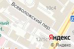 Схема проезда до компании Московский адвокат.RU в Москве