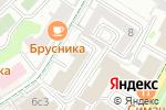 Схема проезда до компании Российское Авторское Общество в Москве
