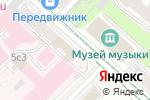 Схема проезда до компании OWN в Москве