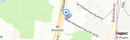 ГорЗдрав на карте Москвы
