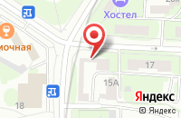 Схема проезда до компании Алкиона Ру в Москве