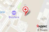 Схема проезда до компании Монтар в Москве