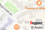 Схема проезда до компании Bunker Shop в Москве