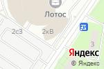 Схема проезда до компании Ходынский Парк в Москве