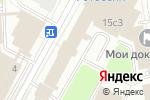 Схема проезда до компании Добрые Вещи в Москве