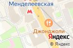 Схема проезда до компании Хлеб Насущный в Москве