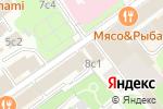 Схема проезда до компании Постоянное представительство Республики Хакасия в г. Москве в Москве