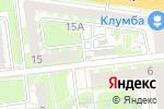 Схема проезда до компании Киоск по продаже овощей и фруктов в Туле