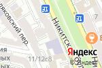 Схема проезда до компании Chr. Athanasiou Construction & Developments в Москве