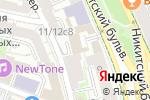 Схема проезда до компании XXI Век в Москве