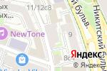 Схема проезда до компании ASTG в Москве