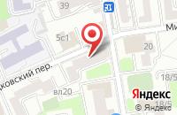 Схема проезда до компании Аудитория в Москве