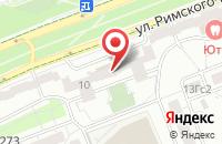 Схема проезда до компании Руско-Лайн в Москве