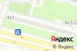 Схема проезда до компании Ткани на Пражской в Москве