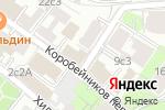 Схема проезда до компании Посольство Республики Хорватия в РФ в Москве