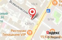 Схема проезда до компании Современная Школа Профессионального Образования в Москве