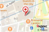 Схема проезда до компании Новый Дизайн в Москве