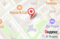 Схема проезда до компании Экран Тв (Телевизионное Объединение) в Москве
