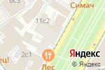 Схема проезда до компании Оркестр в Москве