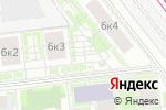 Схема проезда до компании Кладовая №1 в Москве