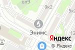 Схема проезда до компании Адамант СБ в Москве