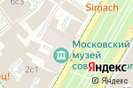 Схема проезда до компании Belli nails в Москве