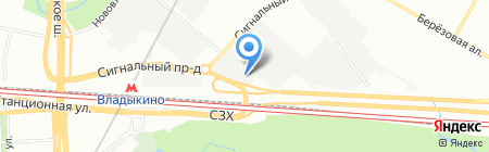 Уваров и К на карте Москвы