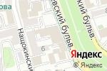 Схема проезда до компании V-A-C в Москве
