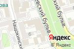 Схема проезда до компании Гоулингз Интернэшнл Инк в Москве
