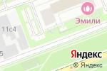 Схема проезда до компании Acover в Москве