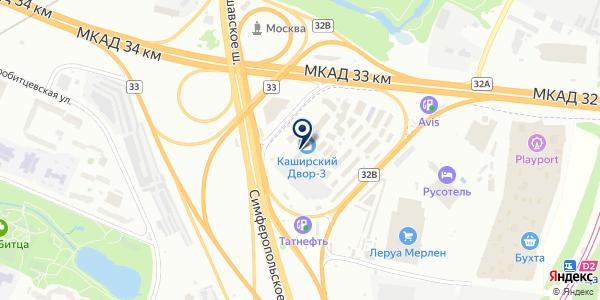 Блок-Модуль на карте Москве