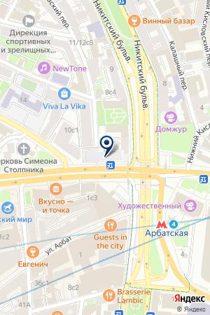 ИНФОРМАЦИОННОЕ АГЕНТСТВО КОТИРОВКА ВАЛЮТ И ЦЕННЫХ БУМАГ на карте Москвы